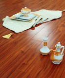 德尔强化复合地板简约风格JB04原野香樟木