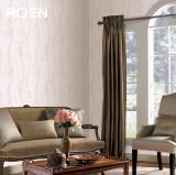 柔然壁纸欧式花纹高级树脂压花时尚色系韩国进口墙纸
