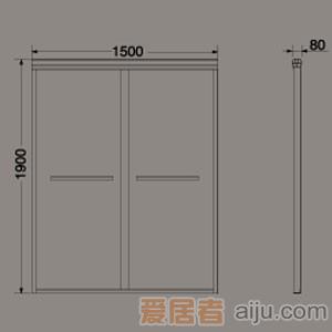 惠达-非标淋浴隔断-HD25012