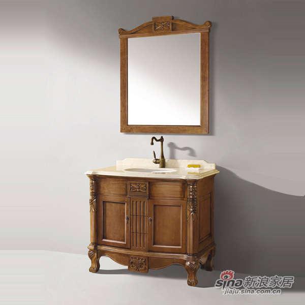 泰陶浴室柜TA-Q2仿古柜-0