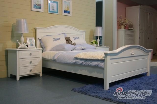 【新干线】板木青少年单人双人床1.2/1.5米-2