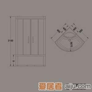 惠达-HD2304蒸汽房2