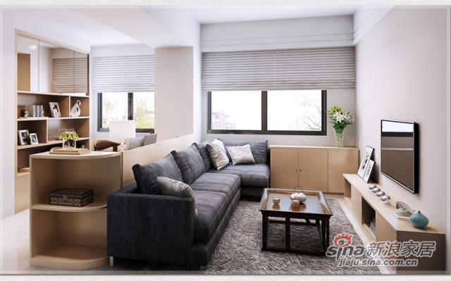索菲亚衣柜-简约现代客厅定制 创意家具组合设计-1