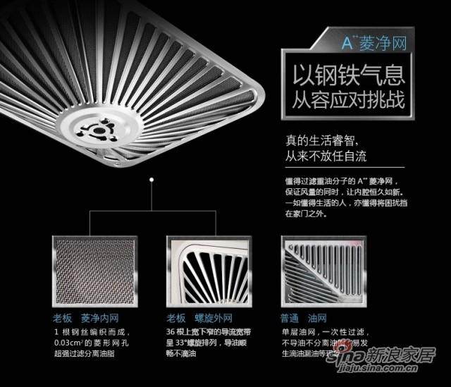 Robam/老板 CXW-200-63X7 老板全钢欧式触控大吸力免拆洗抽油烟机-3