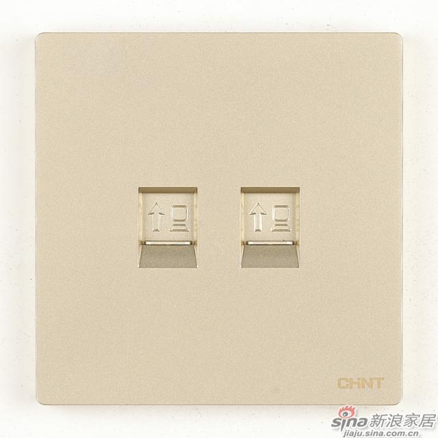 正泰NEW2H系列双电脑插座