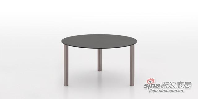 迪信DFT5656 玻璃圆餐台-1