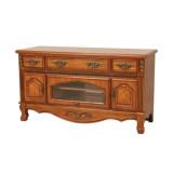 艾芙迪 卧室家具 电视柜 液晶电视柜 实木 原木色 ACL50B-700AN