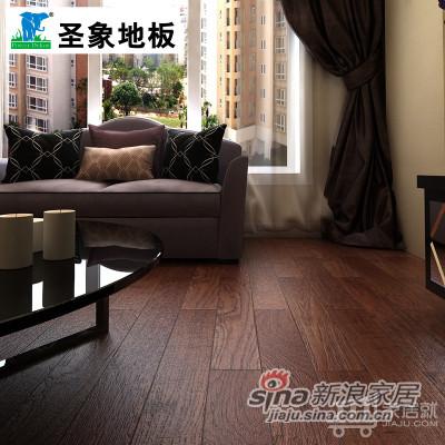 圣象康逸树码芯复合实木地板 NK3002-1