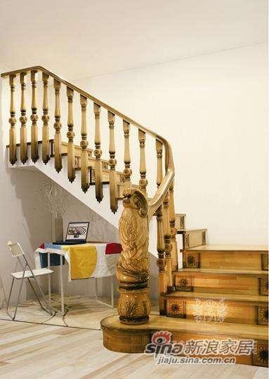 名杉罗马假日系列楼梯-0