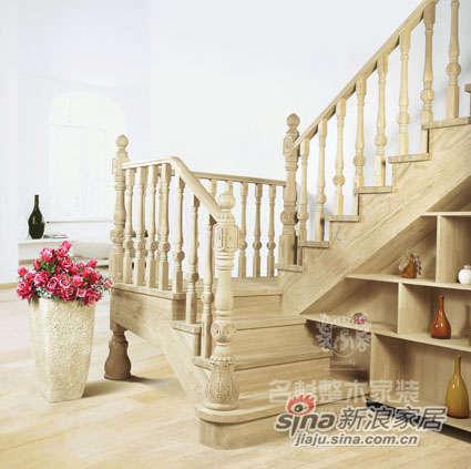 名杉罗马假日系列楼梯-2