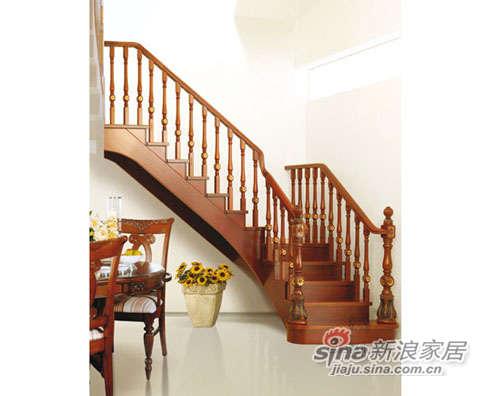 名杉罗马假日系列楼梯-1