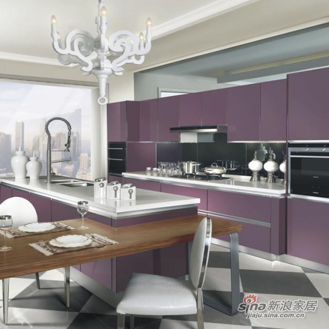 德贝厨柜紫色情愫Ⅲ