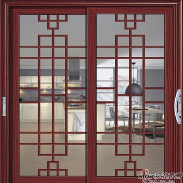 G-5238红檀香、 波尔多格条軒尼斯门窗