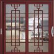 G-5238红檀香、 波尔多格条�尼斯门窗