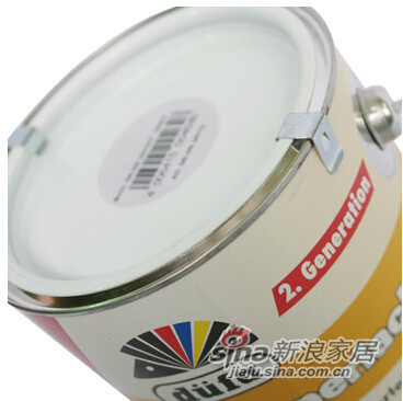 德国都芳水性全环保PU耐高温暖气片专用漆 环保涂料-2
