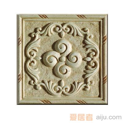 嘉俊-艺术质感瓷片[城市古堡系列]DD1502C1W(150*150MM)1