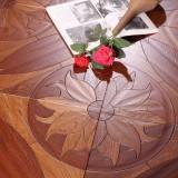 瑞澄地板--多层拼花系列--碳化栎木RCPH-0508道具图01