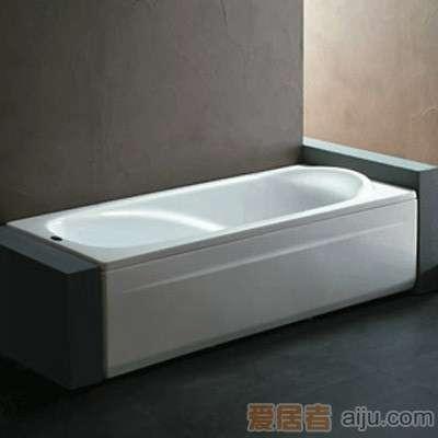 法恩莎单裙浴缸-F1712Q(1700*800*510MM)不含去水1