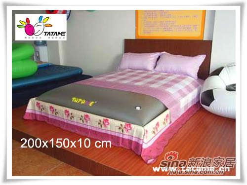 TATAME水床系列 双人海绵水床(绿色和粉色) QP02005