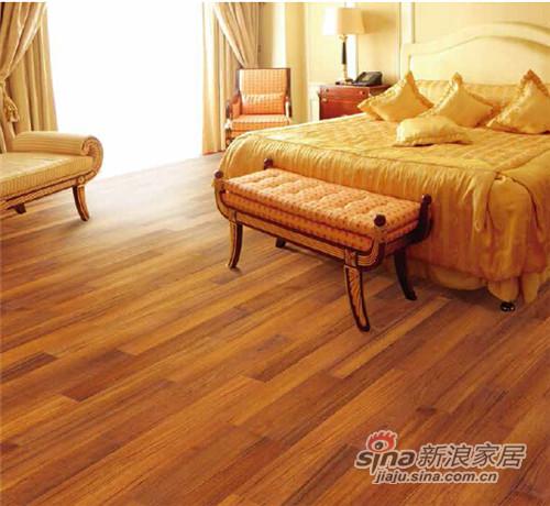 安信柚木实木地热地板