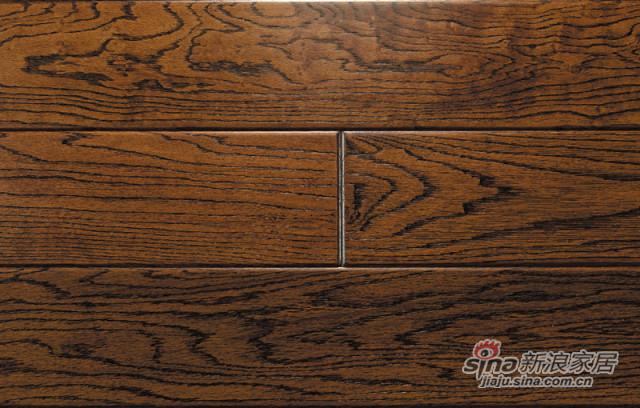 美国红橡-浮雕欧典古橡实木地板