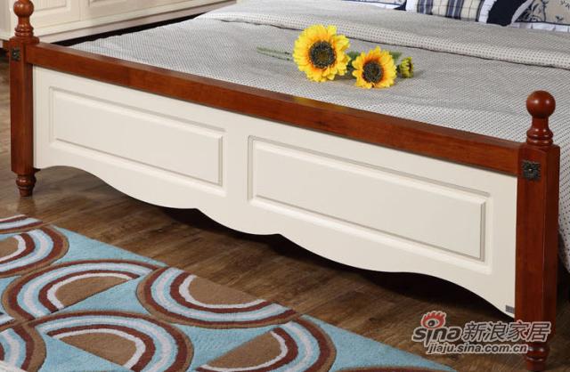 九天家私家具橡木大床-3