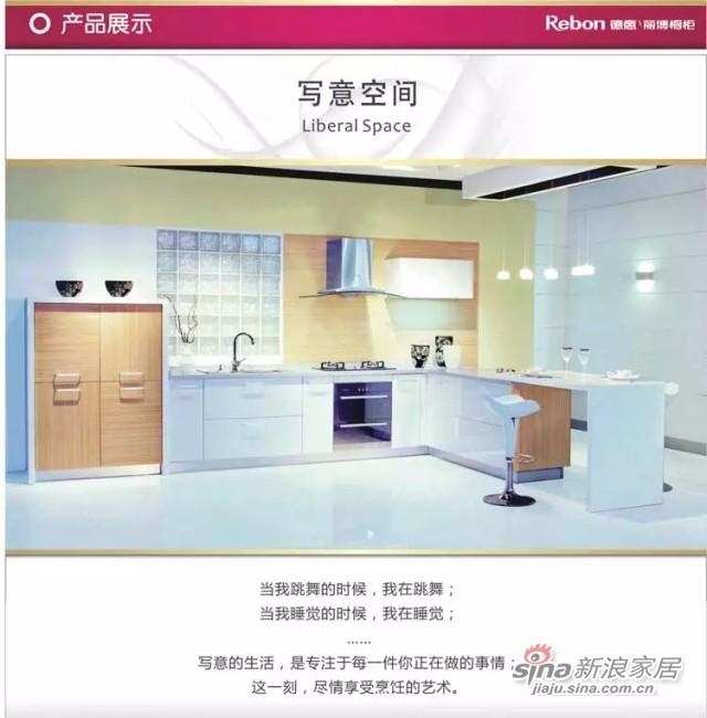 德意丽博橱柜 整体厨房橱柜 定制橱柜-1