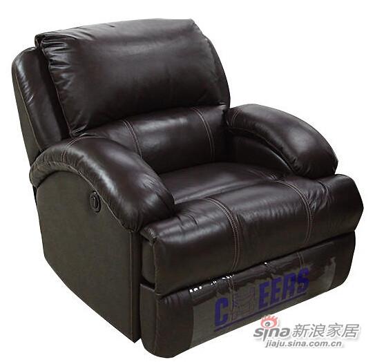 芝华仕单人位功能皮沙发(电动款)