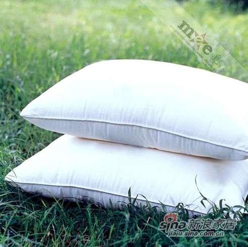 梦洁家纺床上用品 Mee觅 四孔枕芯 透气枕头-0