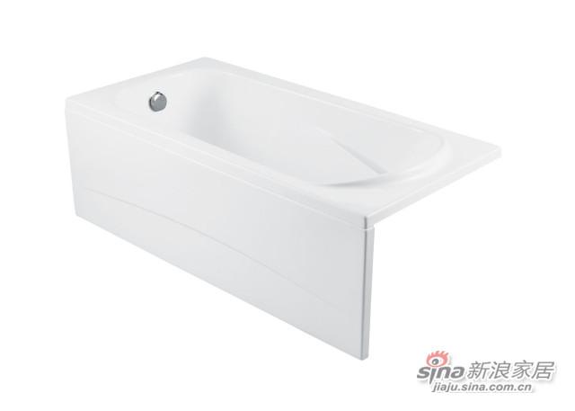 YT-1507HO/YT-1507QO浴缸+裙板