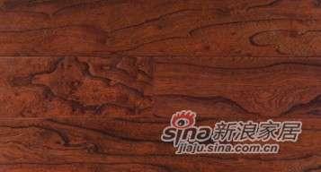 欧龙地板多层实木系列-榆木仿古5号