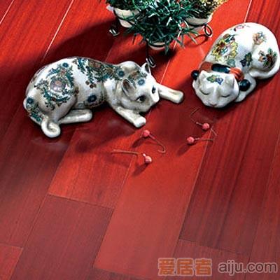 比嘉-实木复合地板-雅舍系列-YSC011:沙比利(910*125*12mm)1