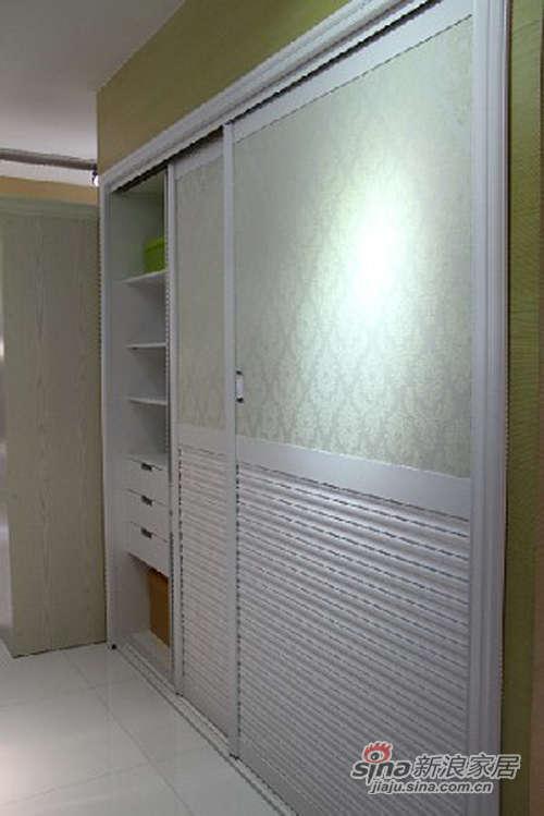 顶固家具白浮雕衣柜-0