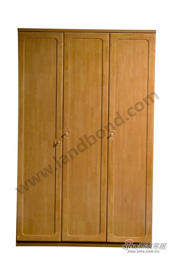 家家具K07500DJ三门衣柜柜体
