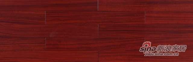 大卫地板经典实木-非洲印象系列S23LG02圆盘豆(红色淋辊)-0