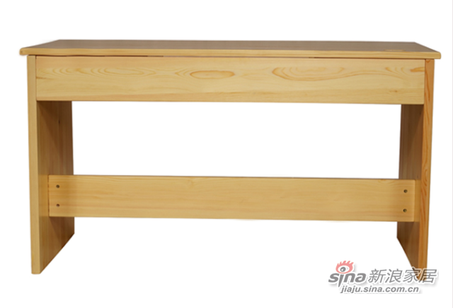 艾森木业名松屋松木书房系列全实木组合书桌-2