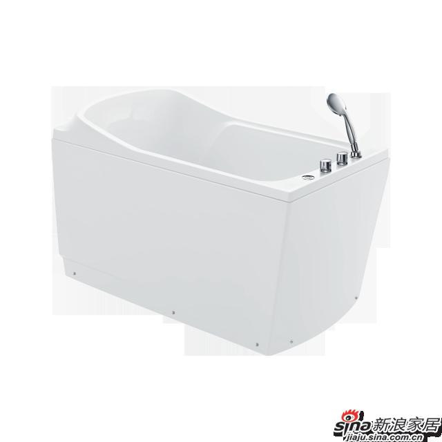 恒洁卫浴浴缸HLB607SLS1-130