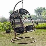 凰家御器藤英式吊椅摇椅休闲椅太阳椅藤家具NH-Y033