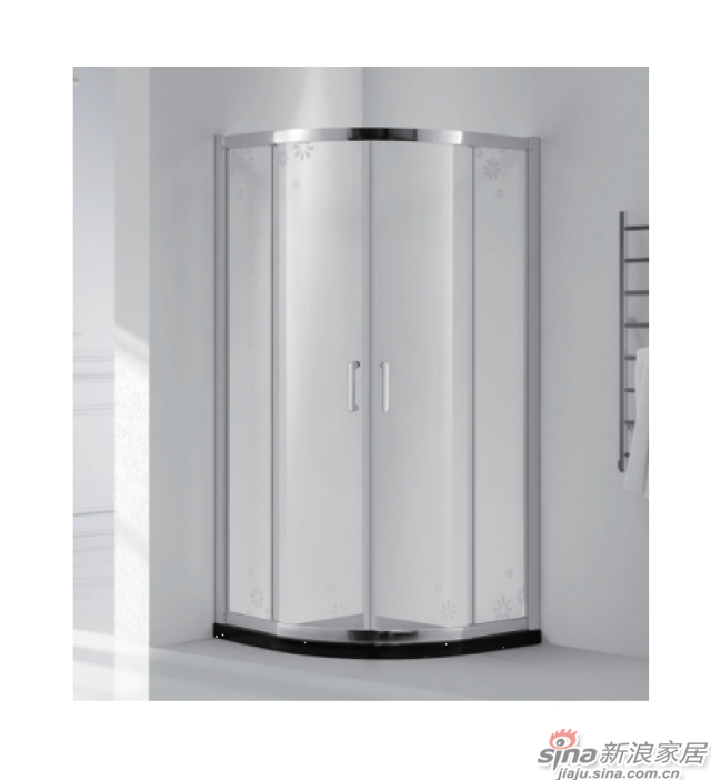 SH2-3251S半弧形二固二移沐浴房