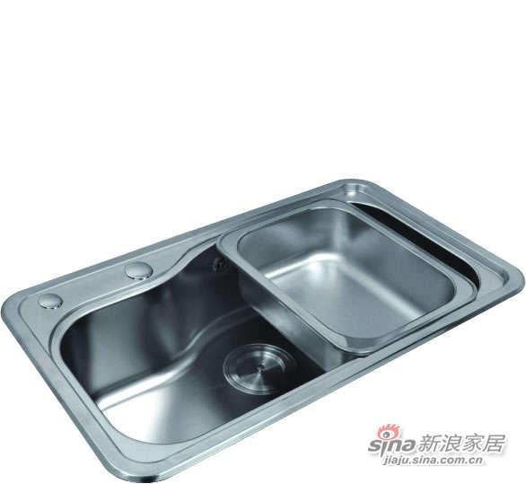 宏浪洁具不锈钢单槽-0