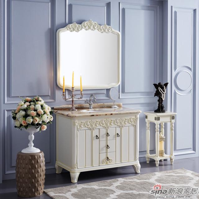 阿洛尼浴室柜-欧式仿古柜-A1803