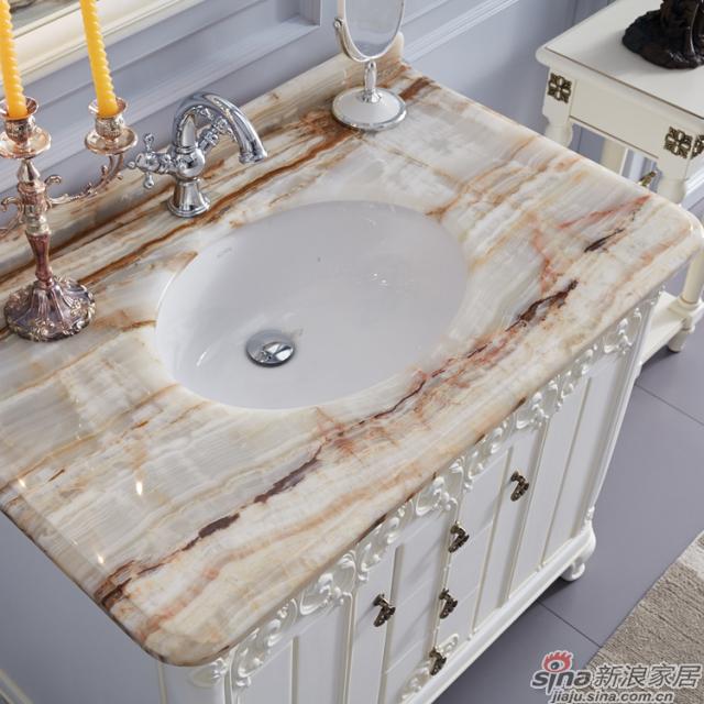 阿洛尼浴室柜-欧式仿古柜-A1803-1