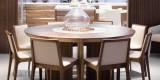迪信DFT6262 木面圆餐台