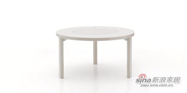 迪信DFT6262 木面圆餐台-3