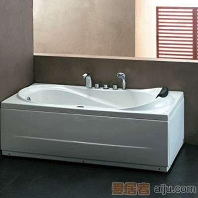法恩莎五件套双裙浴缸-F1501SQ (1500*800*600MM)1