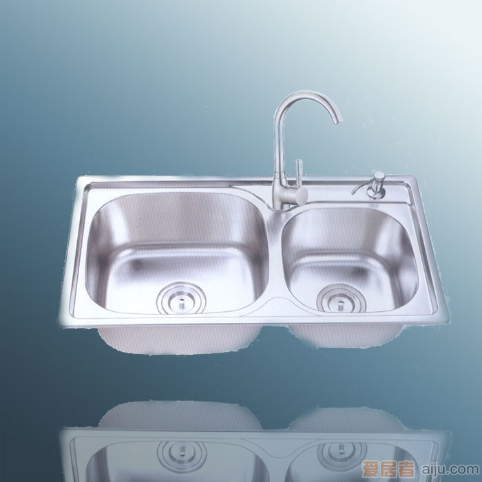 御象厨电促销套餐:水槽748+龙头SE-C1