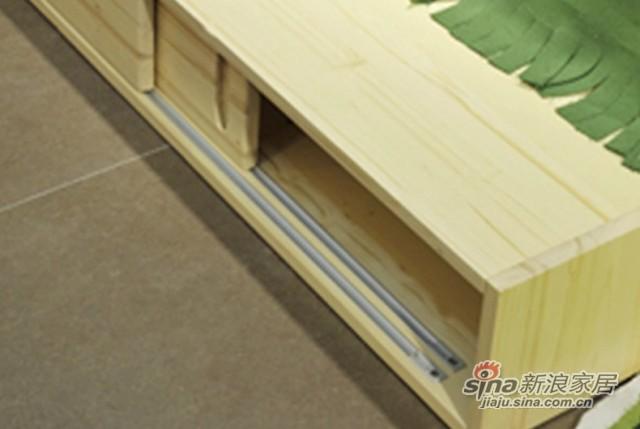 七彩人生 成长日记 双人床实木床箱拖床