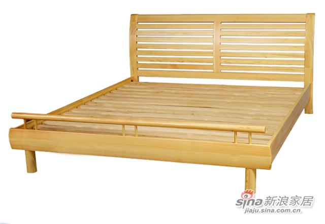 艾森木业名松屋全实木床-2