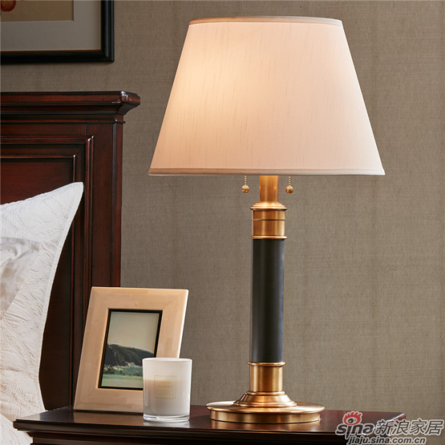 Mansion 铜制台灯