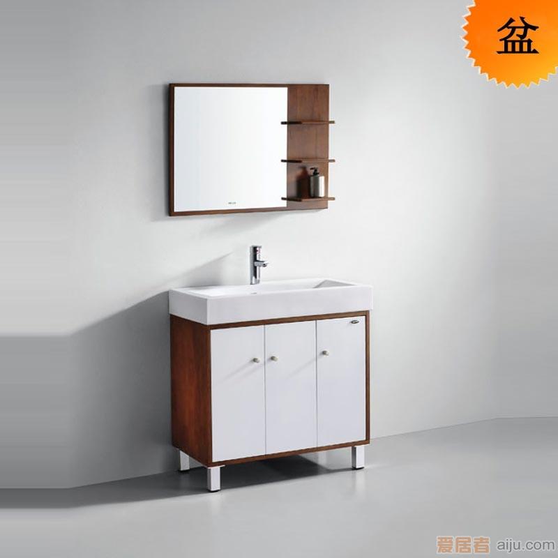 法恩莎实木浴室柜-FP4683面盆(810*445*120MM)1